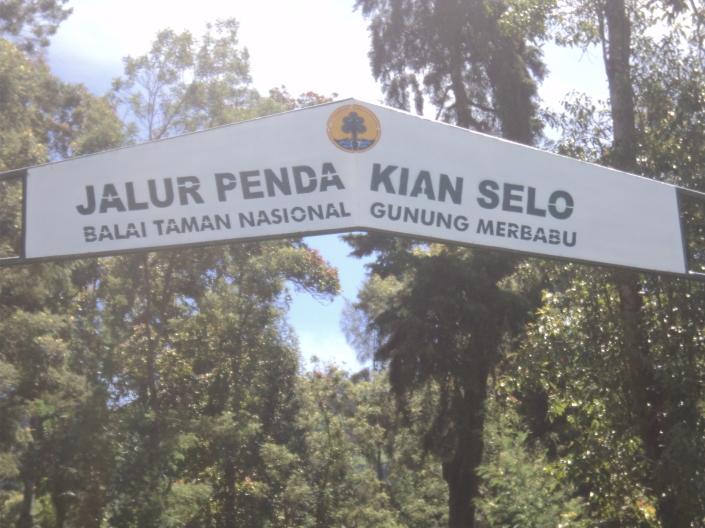 jalur pendakian selo balai taman nasional gunung merbabu